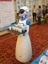 百航餐厅送餐传菜迎宾讲解机器人厂家直销