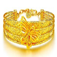 黄金手镯戒指项链回收多少钱一克洛阳泰鑫珠宝高价上门回收黄金图片