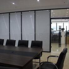 专业安装办公室玻璃隔断中空百叶玻璃厂家直销铝型材批发生态门安装
