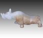 和田白玉犀牛