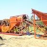 輪式洗沙機