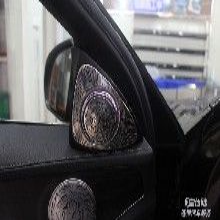 长沙改装奔驰3D旋转高音专业改装店求推荐图片