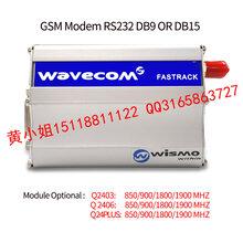 深圳廠家直銷WAVECOM串口兼容USB接口調制解調器MODEM內置Q24Plus模塊圖片