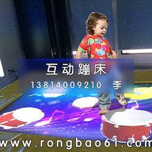 蹦床主题游乐-荣宝互动儿童乐园设备厂家