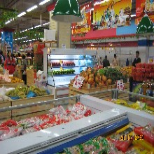 水果风幕柜哪个牌子好水果蔬菜保鲜柜怎么选择超市专用风幕柜