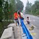 合宇道路专业生产波形梁护栏板立柱防阻块柱帽端头法兰立柱防眩板支架道路标志牌