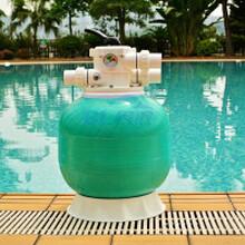 江苏河北供应玻璃钢过滤沙缸泳池水处理设备免清洗