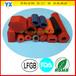 耐高温阻燃硅胶发泡管模压硅胶发泡制品定制异型发泡管