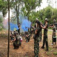 深圳户外拓展训练,户外团队活动与旅游拓展真人CS野战实践体现团队的作用