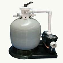 新疆环保玻璃钢过滤沙缸泳池水处理设备温泉水处理设备