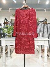 广州品牌折扣女装分份批发大码女装连衣裙