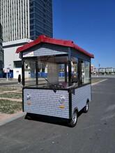 专业订制小吃车早餐车多功能餐车移动餐车流动售货车电动四轮车