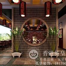 河南中式风格湘菜馆装修设计选了英皇公司顾客天天爆满