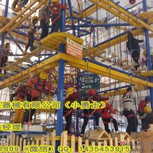 厂家直销儿童体能拓展淘气堡绳网探险攀爬室内外训练器材设备订制图片