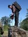 美国绍尔单人背包式岩芯钻机