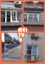 北京海淀西三旗小区防护栏安装不锈钢防盗窗防盗网安装防盗门