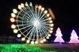 大型LED灯光节圣诞灯光节造型出租出售灯光节