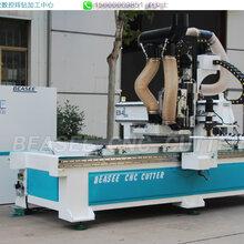 郴州市全自动家具生产设备双工序加排钻开料机