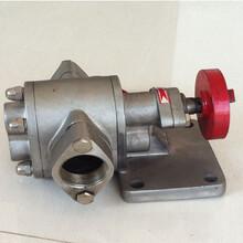 不锈钢齿轮油泵KCB-200厂家直销泊头畅宇泵业