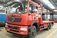 程力东风特商后八轮平板车钩机平板拖车平板厂专业生产厂家4吨平板拖车