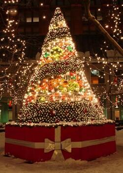大型动态圣诞树出租出售灯光节出租出售