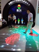 智能感应LED互动地砖屏