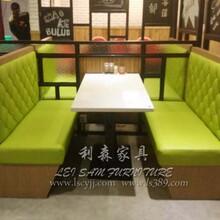 深圳绿色环保简约餐厅餐桌全国连锁餐饮餐桌家具定做
