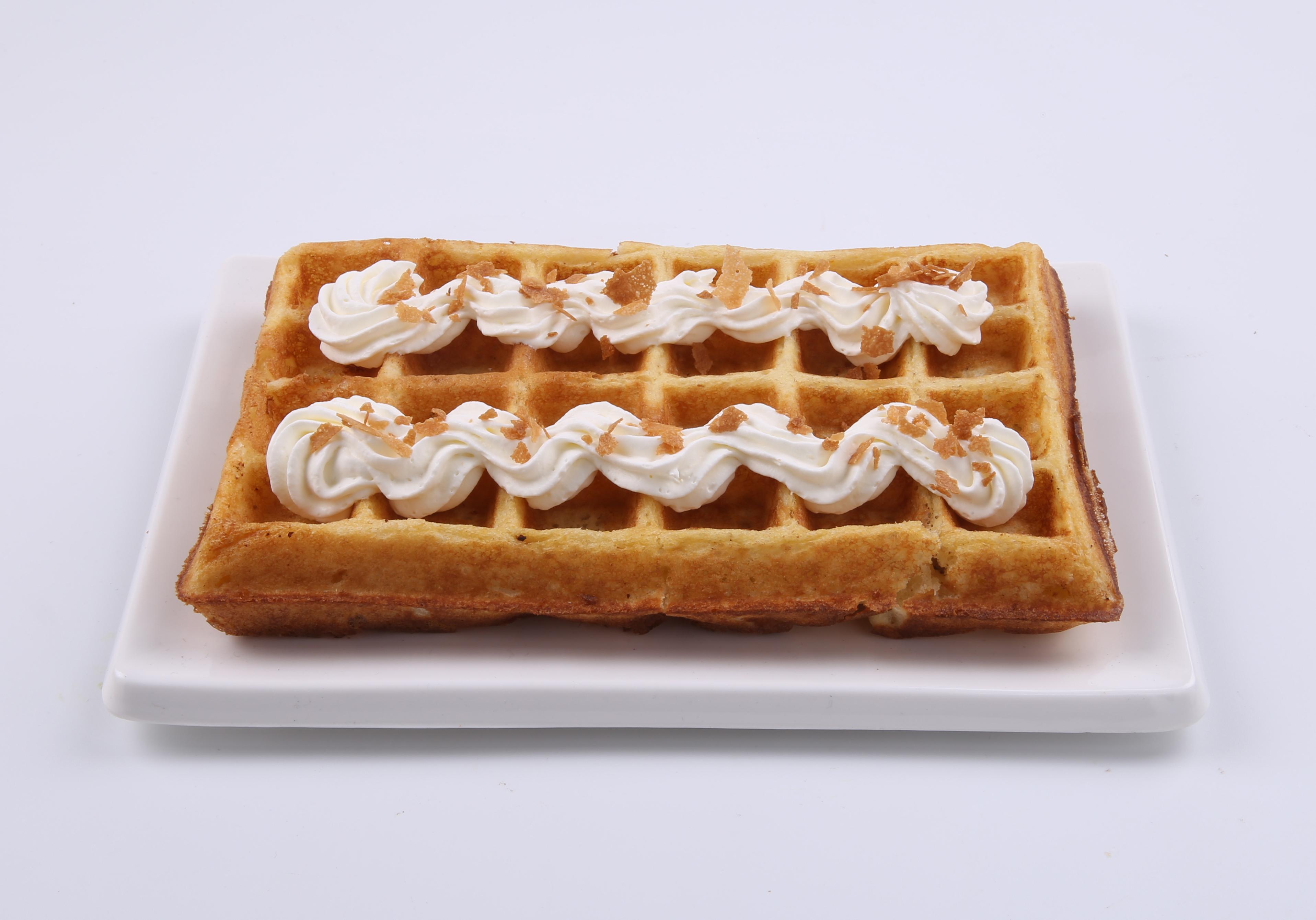 仿真食品模型玩具华夫饼(松饼)挂件模型过家家玩具
