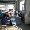 创景CHJ大型牛奶生产加工厂容器配件激光刻字机不规则水泵轴承刻字打标机