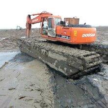 平安厦工215-9水陆两用挖掘机出租水利开发建设