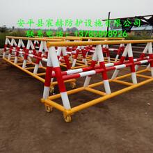 专业生产移动阻车路障防撞隔离栏带刺拒马交通安全隔离栏