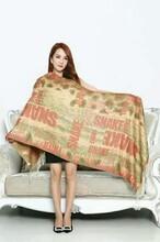上海故事天丝棉围巾,女装库存尾货折扣,品牌走份批发