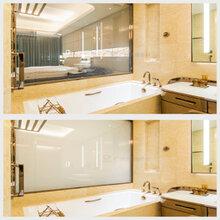 调光玻璃品牌-欧毅智能雾化玻璃办公隔断投影玻璃