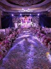 供销厂家仿真花艺设计酒店婚庆花装饰塑料花布场假花大型仿真植物
