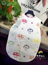 雅赞正品六层棉纱婴幼儿睡袋