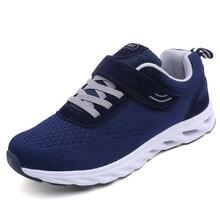 2018中老人年防滑休闲鞋运动保暖男冬季健步鞋爸爸父亲健身软底鞋