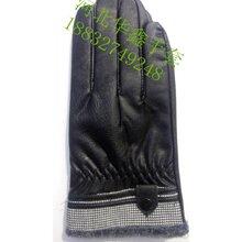 河北生產皮革手套加工仿羊皮手套廠家直銷圖片