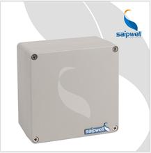 斯普威尔生产铝合金防水防尘防火防紫外线接线盒子还有PC盒子160mm160mm90mm图片