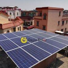 佛山太阳能发电屋顶电站光伏组件徳九新能源
