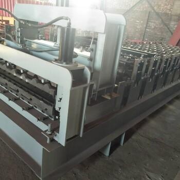 泊头生产全自动变速单板910型彩钢压瓦机设备压瓦机价格