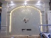 环保健康罗马柱电视背景墙石材大板精雕浮雕拼花电视背景墙罗马柱