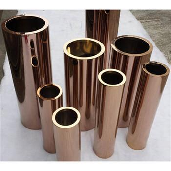佛山201不锈钢焊管/不锈钢管/不锈钢圆管玫瑰金现货批发
