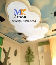 青島軟膜天花裝飾公司承接軟膜天花吊頂工程圖片