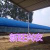 新旺兴农养殖大棚8318热镀锌钢架大棚生产建设
