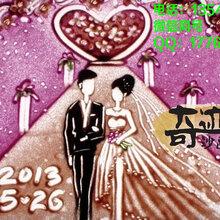 結婚用的沙畫哪家好?婚禮沙畫現場表演哪家好?婚禮沙畫視頻定制
