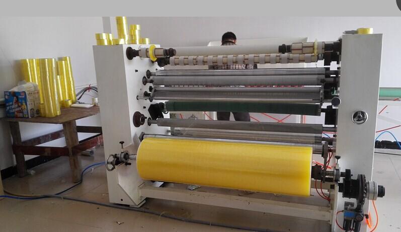 东莞佳源二手单轴双轴二手切台自动分条分切条复卷胶带机
