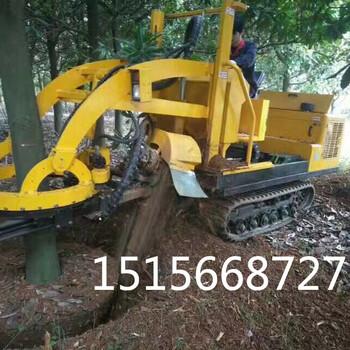 挖树机厂家移树机大小可调三普3WSL-1.6型履带式挖树机
