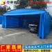 河北定制工厂仓储帐篷折叠推拉雨棚活动伸缩蓬工地钢筋棚大型帐篷