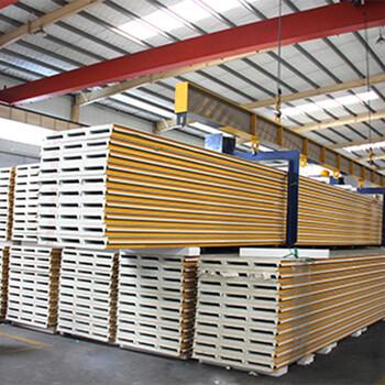 山东75厚聚氨酯彩钢板多少钱一米厂家批发
