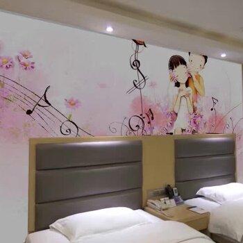 【广州墙体彩绘手绘墙画酒店KTV墙绘主题墙绘追梦墙绘】-黄页88网图片